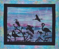 Water Birds Quilt Pattern FID-755