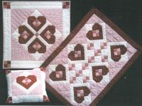 Keepsake Hearts Quilt Pattern FPT-210e