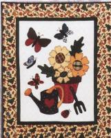 Butterfly Spring Quilt Pattern FRD-1001