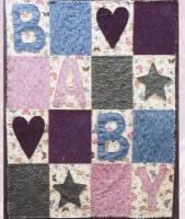 Cozy Flannel Baby Quilt Pattern FRD-1106