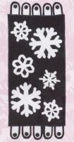 Nighttime Flurries Table Runner Pattern FRD-1201