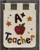 A+ Teacher Banner Pattern FRD-1205