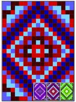 FREE Diamond Layers Quilt Pattern FREE-RMT02e