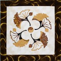 Dancing Gingkos Quilt Pattern GGA-119