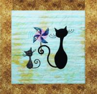 9 Lives Plus 3 August Quilt Pattern GGA-H13