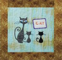 9 Lives Plus 3 September Quilt Pattern GGA-I13
