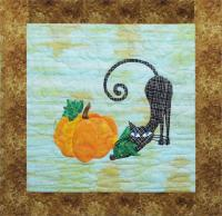 9 Lives Plus 3 October Quilt Pattern GGA-J13