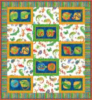 Reptile Fun Quilt Pattern GQ-103