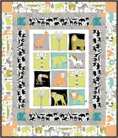 On Safari Quilt Pattern GQ-106