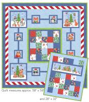 Ted's Christmas Quilt Pattern GQ-107