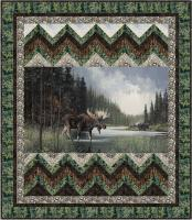 Moose Crossing Quilt Pattern GQ-108