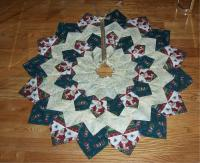 Dresden Plate Christmas Tree Skirt Pattern GR-102