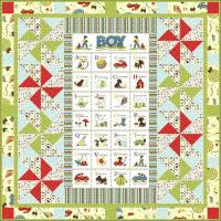 A Day At The Fair Flannel Quilt Set Pattern GTD-115