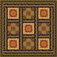 A Stroll Through the Park Quilt Pattern GTD-117
