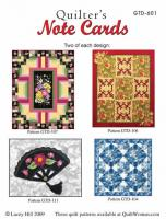 Quilter's Note Cards  - GTD-601