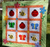 Baby Bugs Quilt Pattern HBD-103