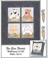 Fur Ever Friends Pattern HBH-101