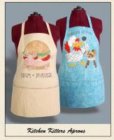 Kitchen Kitters Aprons Pattern HBH-116