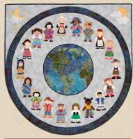 We Are The World Pattern HBH-117