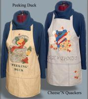 Quacking Up Aprons Pattern HBH-118