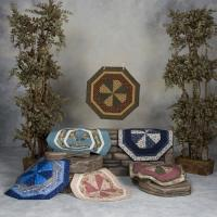 Tri-Eight Centerpiece Pattern HCH-002