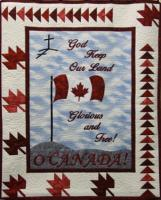 God Keep Our Land, Canada! Wall Hanging Pattern HCH-022