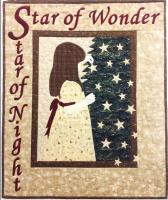 Star of Wonder Wall Hanging Pattern HCH-033