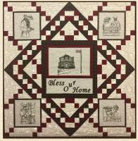 Bless our Home Wall Hanging Pattern HCH-050