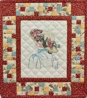 Girlie's Hat Wall Hanging Pattern HCH-052
