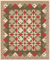 Gingerbread Lane Quilt Pattern HHQ-7350