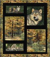 Wolf Territory Quilt Pattern HHQ-7356