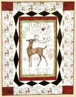 Winter Visitors Quilt Pattern HHQ-7381
