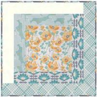 Seaside Inn Small Toss Pillow Pattern HHQ-7404