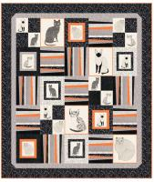 House Cats Quilt Pattern HHQ-7406