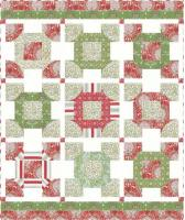 Christmas Colors Quilt Pattern HHQ-7427