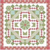 Holiday Medallion Quilt Pattern HHQ-7428