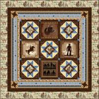 The Cowboy Way Quilt Pattern HHQ-7434