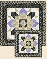 Tropical Starflower Quilt Pattern HHQ-7447