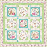 Bunny Baby Quilt Pattern HHQ-7449