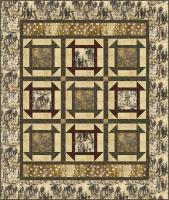 Horse Corral Quilt Pattern HHQ-7454