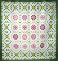 English Rose Garden Quilt Pattern HQ-205
