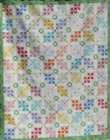 Blossom Chain Quilt Pattern HQ-215
