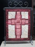 Woven Cross Mini Quilt Pattern HQ-225