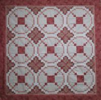 Crossed Circles Quilt Pattern HQ-232