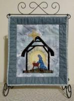 Radiant Beams Nativity Wall Hanging Pattern HQ-243