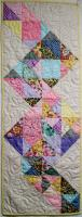 Cascading Triangles Quilt Pattern HQ-249