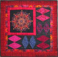 Diamond Road Wall Hanging Quilt Pattern HQ-254