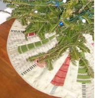 O Easy Christmas Tree Skirt Pattern JL-104