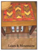 Lakes & Mountains Table Topper Pattern JLT-104e