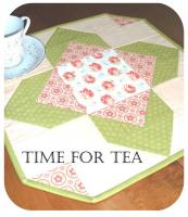 Time for Tea Table Topper Pattern JLT-108e